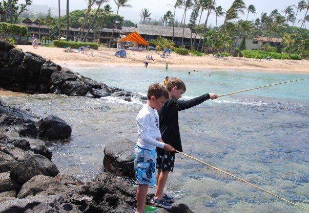 NKBR Max and Nate Keiki Fishing