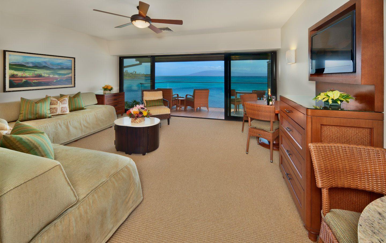Napili Kai Beach Resort - 1 Bed Living Room