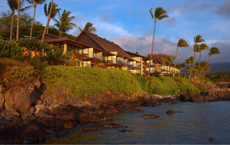 Napili Kai Beach Resort Rooms - Puna Point Exterior