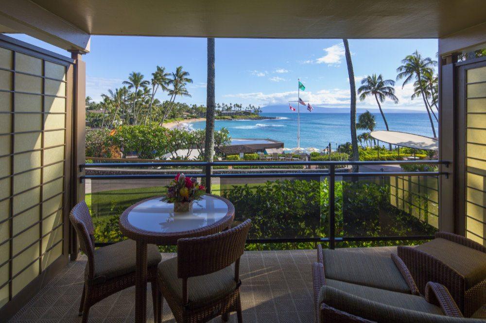 Napili Kai Beach Resort - Ocean View Studio Aloha Building View