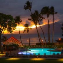 Napili Kai Beach Resort Night View